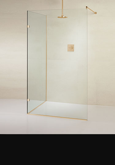 Ordinaire Surf Frameless Open Shower Enclosure ...