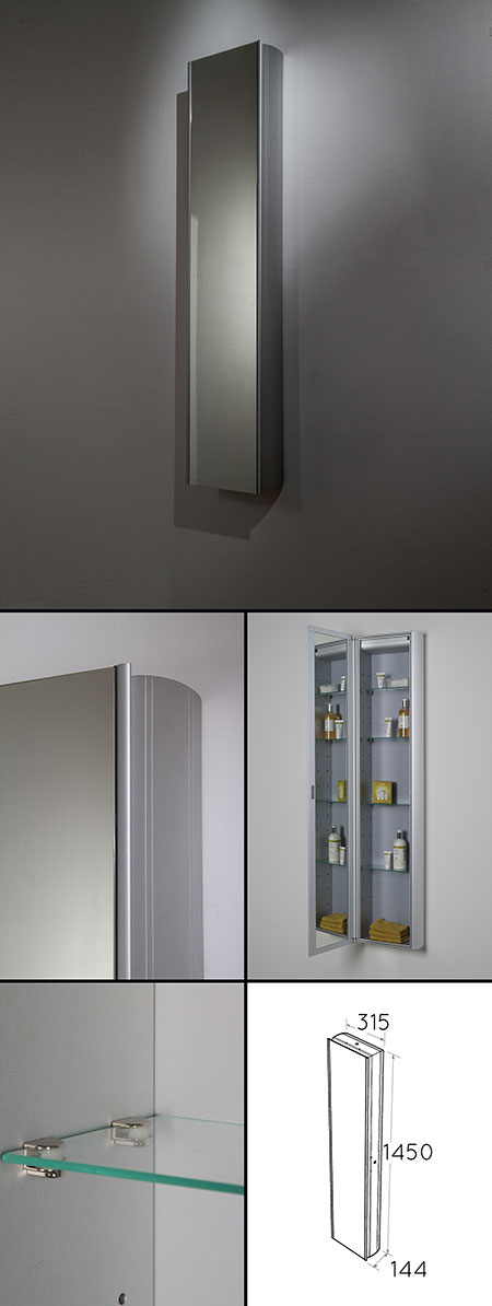 Tall Bathroom Storage Tall Mirror Cabinets Livinghouse