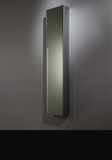 Bathroom mirror cabinets with lights without lights - Bathroom storage mirrored cabinet ...