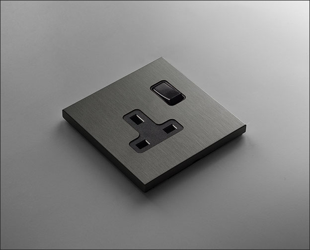 Grey Bronze Plug Sockets Amp Wall Sockets Vogue