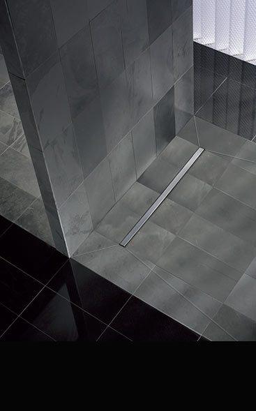Designer bathrooms luxury bathroom company livinghouse for Wet room shower tray for vinyl