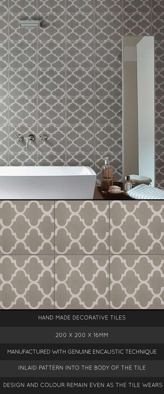 Moroccan Floor Tile Encaustic Cement Tiles Tiznit