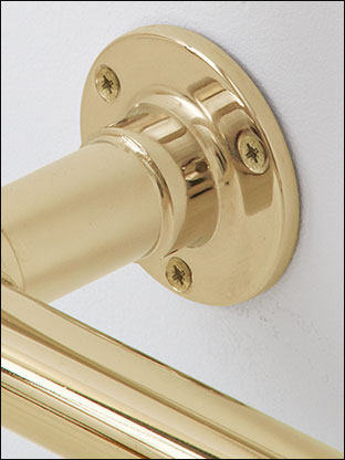 British Made Towel Warmers In Gold Plated Finishes