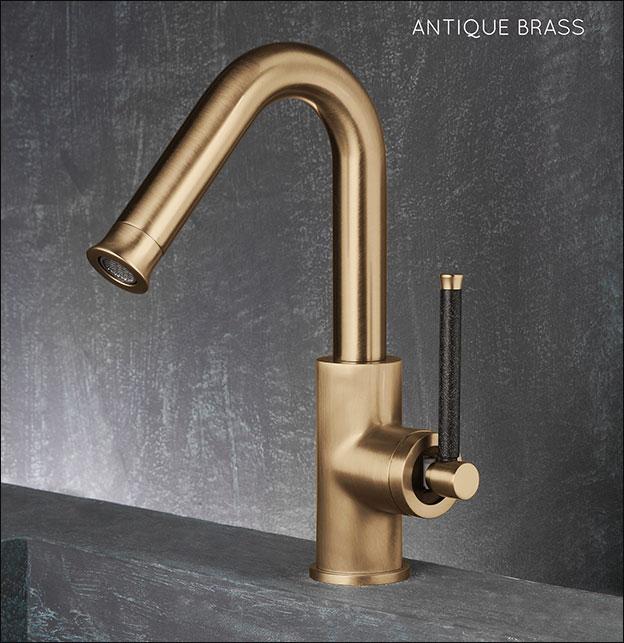 Brass Taps Antique Brass Basin Taps Mixers Pau