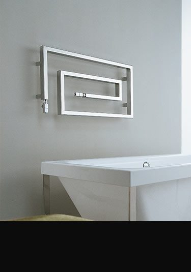 Wonderful Twister Chrome Heated Towel Rail ... Part 30