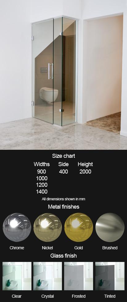 Modern Shower Door Steam Room Shower Door Bathroom Glass Door