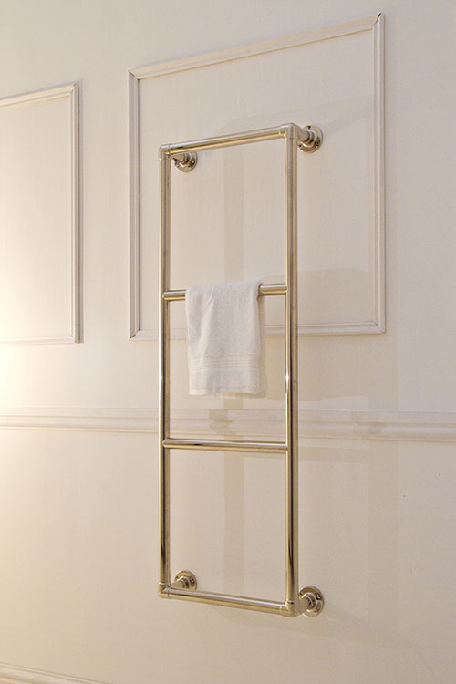 Traditional Nickel Towel Rails Nickel Plated Towel