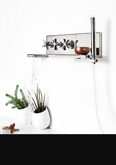 waterfall taps for basin bath amp shower head l eau wall mounted bathroom faucet bath tub mixer tap with hand