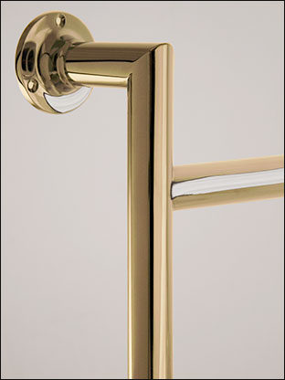 Traditional Gold Towel Rails Traditional Gold Plated