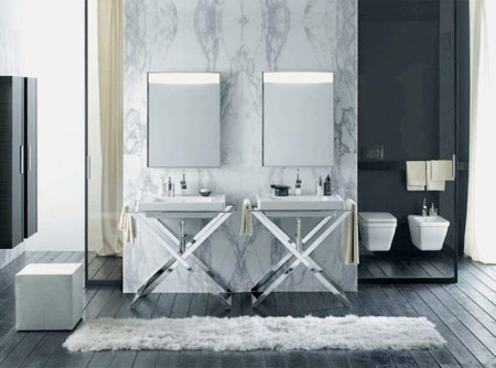 Art Deco Bathroom Suite Collection