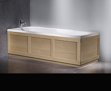 Suppliers of bath side panels in wood amp painted finishes