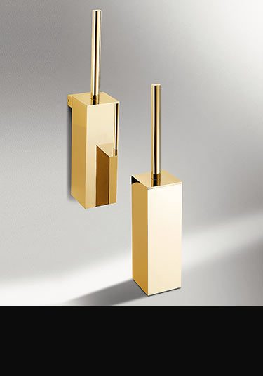 Gold Toilet Brush Set (55GGO)