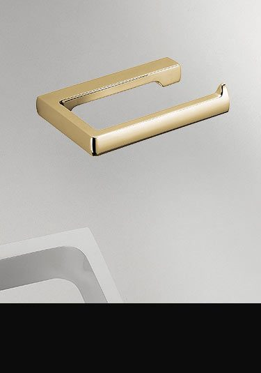 Gold Toilet Roll Holder (55BGO)