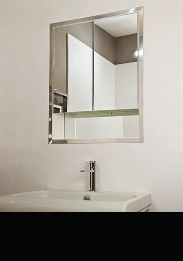 Recessed Bathroom Mirror Cabinet