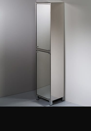 Tall Stainless Steel Bathroom Mirror Cabinet ...