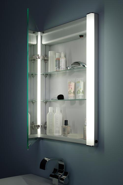 Built Into Wall Bathroom Cabinets Recessed Bathroom Cabinets