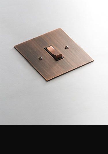 Luxury Light Switches Amp Plug Sockets In Copper