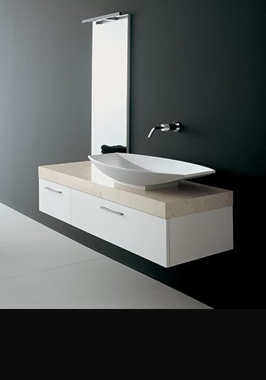 White Bathroom Furniture on Luxury Bathroom Furniture   Designer Bathroom Furniture   Line Range