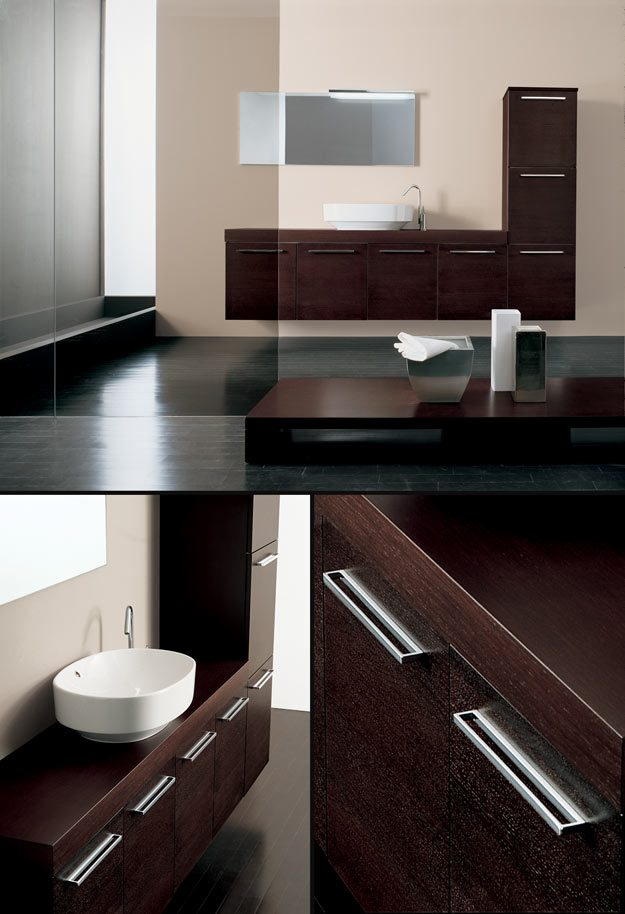bathroom bathroom furniture line wenge wall hung bathroom cabinet