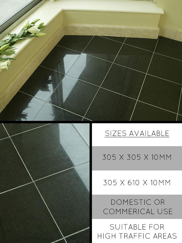 Granite Flooring Granite Tiles In African Black Star Galaxy