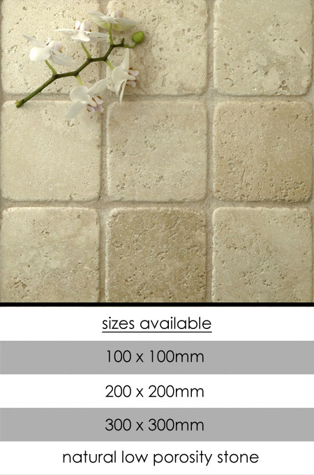 Tumbled Travertine Wall Tiles