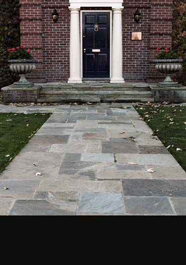 how to clean york stone paving
