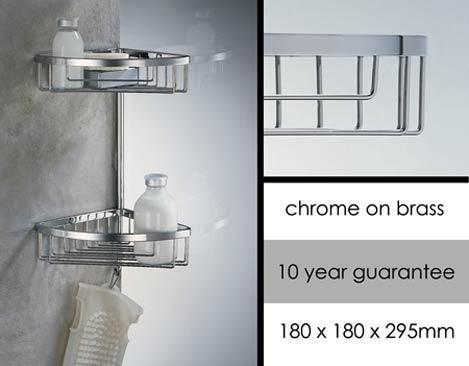 Luxury Shower Storage & Shower Baskets | Livinghouse