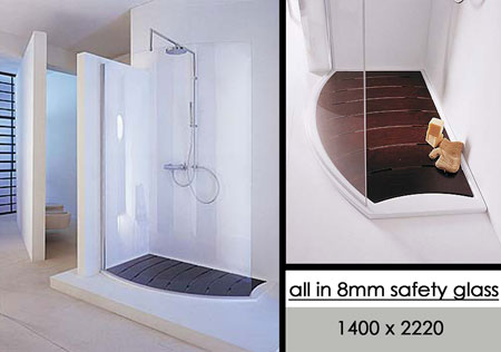 Suppliers Curved Glass Shower Screens Curved Walk In
