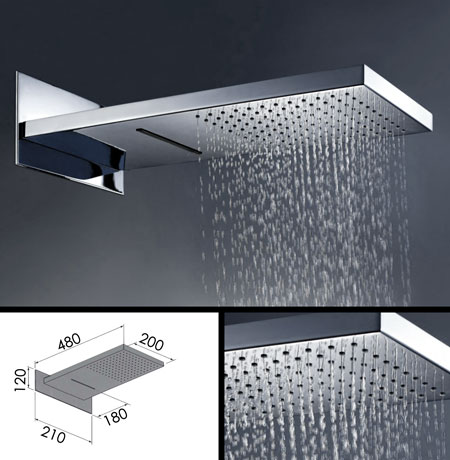 giant rain shower head. Fixed Shower Head With Waterfall Functions  78H Suppliers Large Heads Showerhead