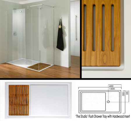 You ... - Using Wood For A Shower Floor - Tile Bathroom Ask MetaFilter