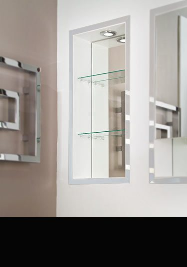 Recessed Bathroom Cabinets Flush Mirror Cabinets In