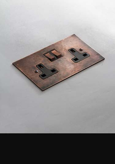 Luxury electrical fittings light switches plug sockets