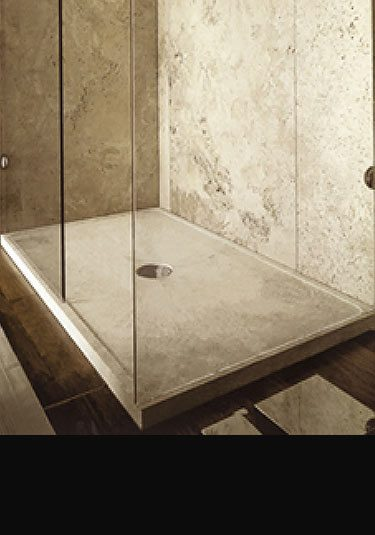 Genial Solid Stone Shower Trays (60V)
