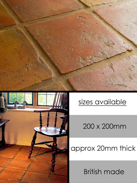 Handmade Terracotta Flooring & Old Terracotta Tiles - Suppliers