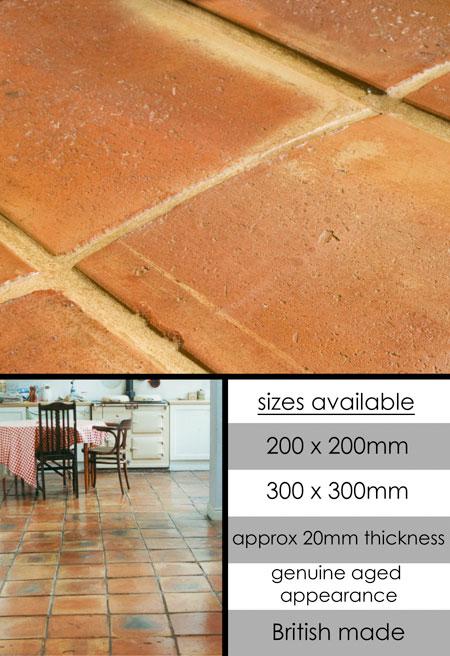 Handmade Terracotta Flooring English Terracotta Tiles Suppliers