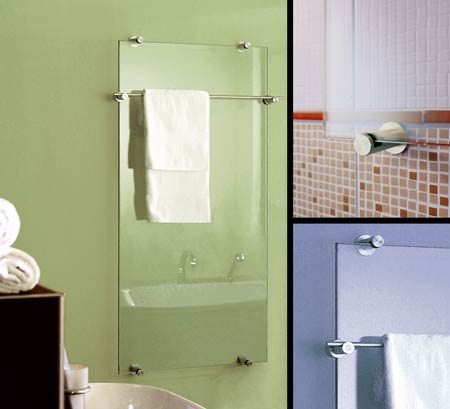 Glass Heating Radiator And Towel Rail For Bathrooms