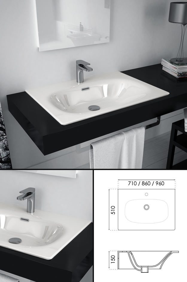 Designer Counter Top Sink Amp Worktop Basins Tulip