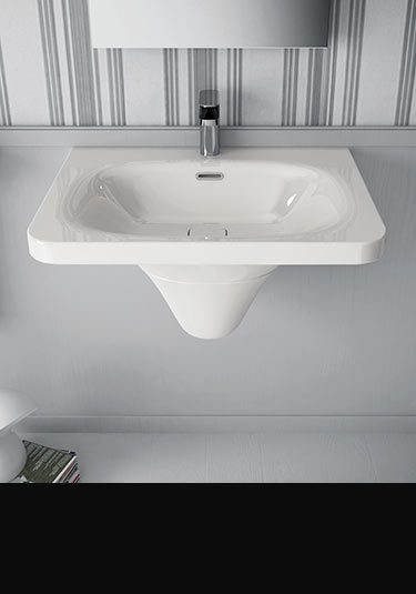 Wall Hung Basins Wall Mounted Sinks By Livinghouse