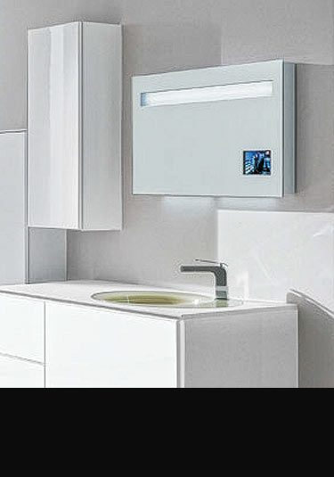 bathroom mirror with tv water resistant bathroom tv livinghouse 16274