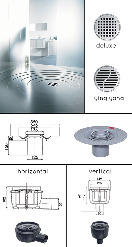 Round Shower Drain Wet Room Drainage Wet Room Drains