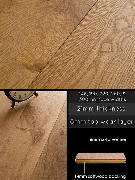 Engineered Wood Flooring Brushed And Oiled Oak Floor
