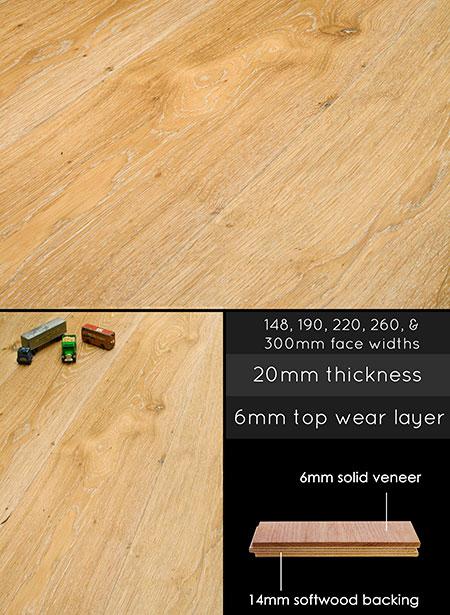 Engineered Wood Flooring Limed Oak Wooden Floor