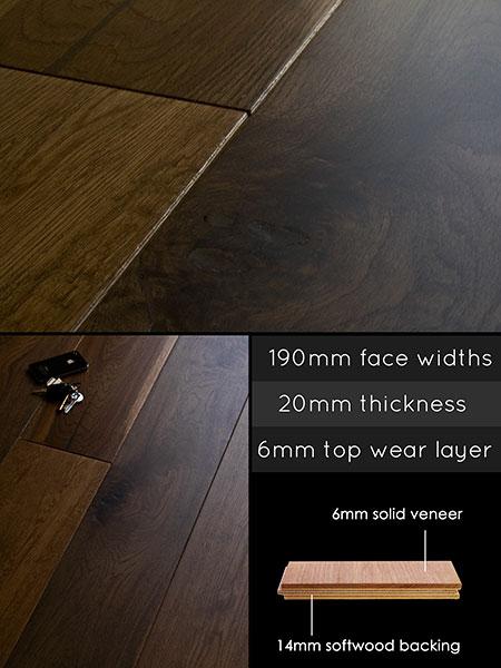 Engineered Flooring In A Bathroom