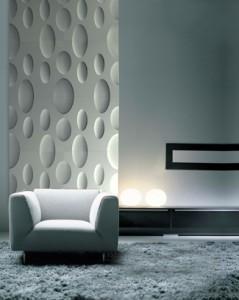 3d textured wall panels make your walls a feature livinghouse blog - Panneau mural decoratif ...