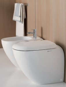 Back to Wall Toilet from Livinghouse.co.uk