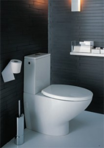 Close Coupled Toilet from Livinghouse.co.uk