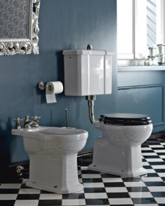 Classic Low Level Toilet from Livinghouse.co.uk
