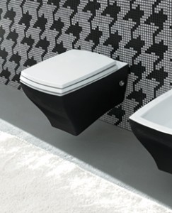 Stylish Wall Hung toilet from Livinghouse.co.uk