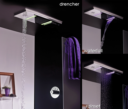 Triple Function Shower Head from Livinghouse
