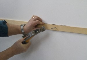 horizontal batten for tiling